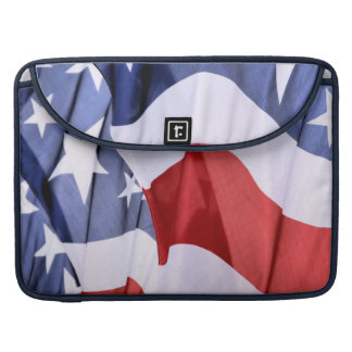 Mangas de MacBook Pro de la bandera americana de l Fundas Macbook Pro