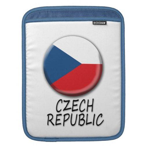 Mangas del iPad de la República Checa Fundas Para iPads
