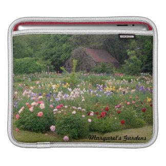 Mangas del iPad de los jardines y del granero de M Manga De iPad
