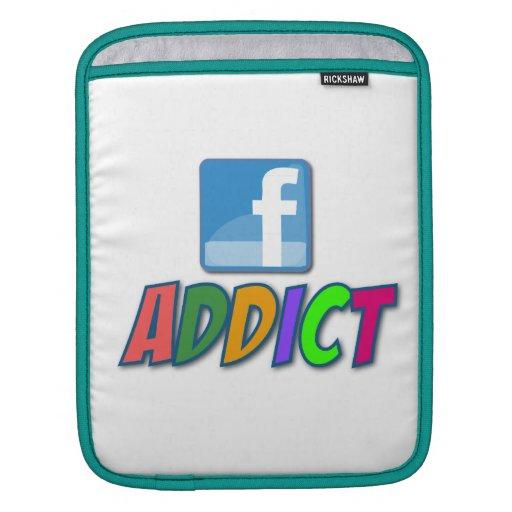 Mangas del iPad del adicto a Facebook Manga De iPad
