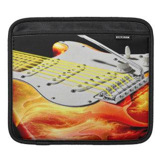 Mangas del iPad del arte 2 de la guitarra Funda Para iPads