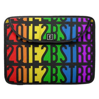 mangas del ordenador portátil 2QTE2BSTR8 Funda Macbook Pro