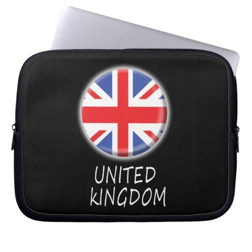 Mangas del ordenador portátil de Reino Unido Funda Computadora