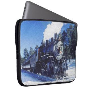 Mangas del ordenador portátil del tren 3 fundas portátiles