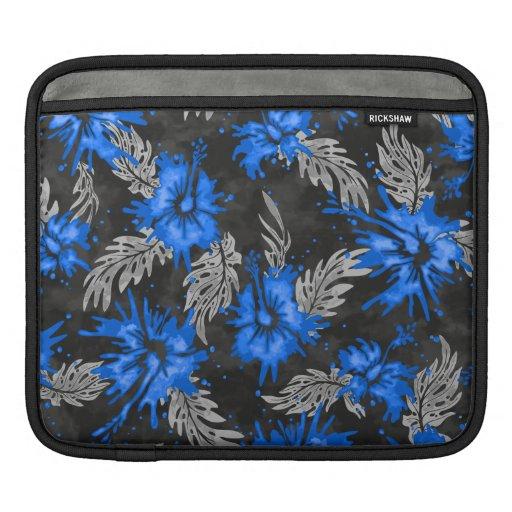 Mangas hawaianas pintadas del iPad del carrito del Mangas De iPad