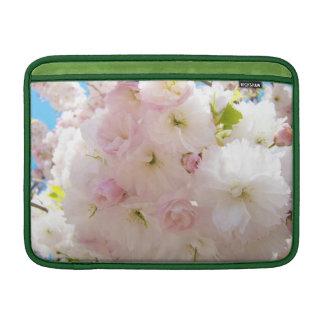 Mangas rosadas blancas mullidas de MacBook del Fundas Para Macbook Air
