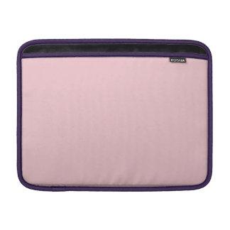 Mangas rosadas suaves de Donna Funda Macbook Air