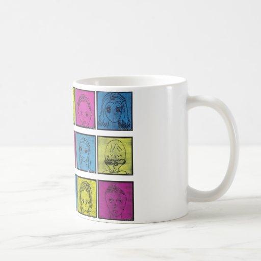 Mangas Series 6 Classic White Coffee Mug