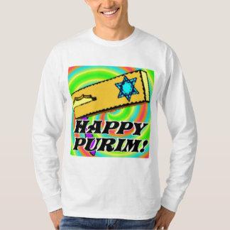 Mangas T-Camisa-Largas de Purim Remera