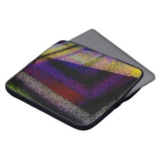 Mangas texturizadas del ordenador portátil de fundas ordendadores