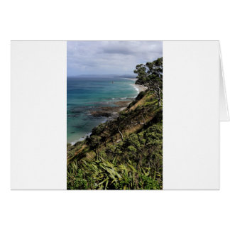 Mangawhai Heads idyllic coast Card