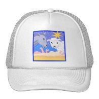 Manger Christian artwork_3 Hat