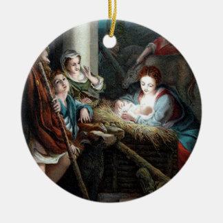 Manger Scene / Belén Christmas Ornaments