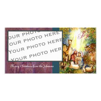 Manger Scene photo card