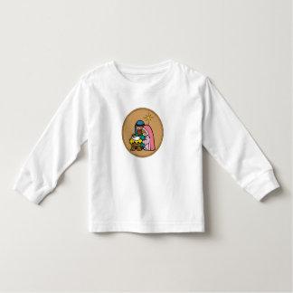 manger scene toddler t-shirt