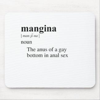 MANGINA MOUSE PAD