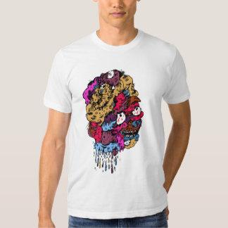 mangle face t shirts