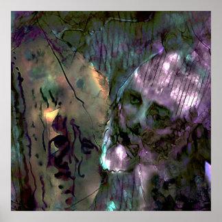 Mangled Togetherness, Blend, Detail 2 Poster