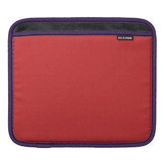 MANGO (a rich red-orange fruity color) ~ iPad Sleeves