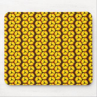 Mango Abstract Pattern Art Mousepad