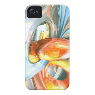 Mango and Cream Abstract Blackberry Bold Case