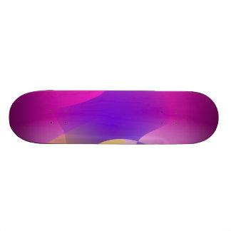 Mango and Eggplant Custom Skate Board