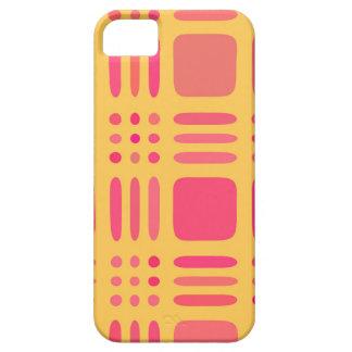 Mango and Papaya Plaid Wannabe iPhone SE/5/5s Case