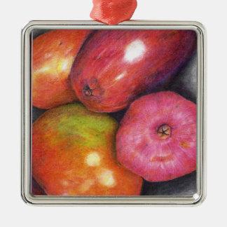 Mango and Pomegranite Ornament