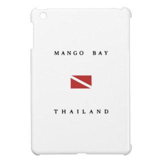 Mango Bay Thailand Scuba Dive Flag iPad Mini Cases