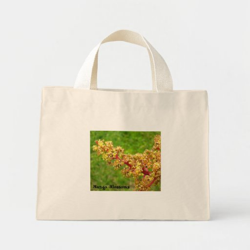 Mango Blossoms Tote Bag