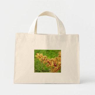 Mango Blossoms Mini Tote Bag