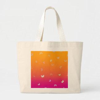 Mango Butterflies - Jumbo Tote Jumbo Tote Bag