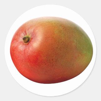 Mango Classic Round Sticker