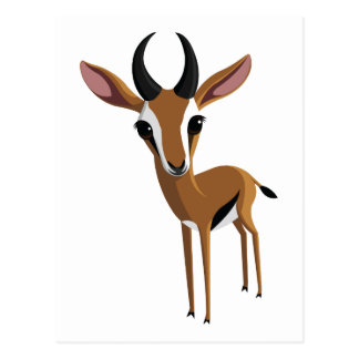 Mango el Gazelle Postales