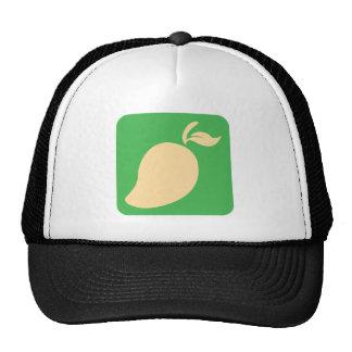 Mango Fruit Icon Mesh Hat