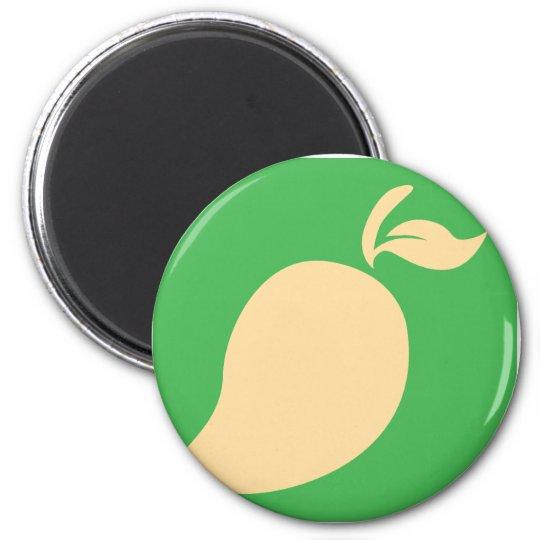 Mango Fruit Icon Magnet