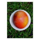 Mango hawaiano tarjeta