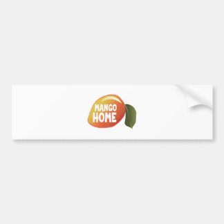Mango Home Bumper Sticker