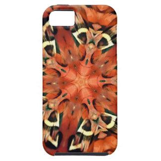 Mango Pheasant Feather Kaleidoscope  Mandala iPhone SE/5/5s Case