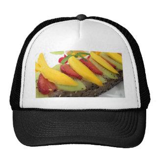 Mango Rice Sushi Food Plate Meal Cuisine Mesh Hat