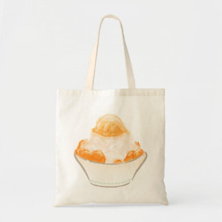 Mango scratching ice budget tote bag