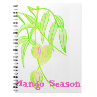 Mango Season Spiral Notebook
