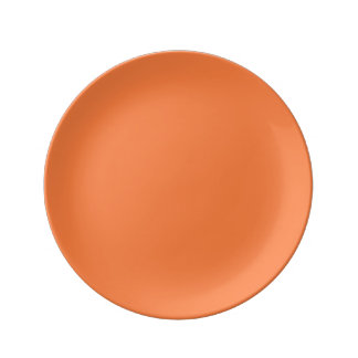 Mango Solid Color Plate