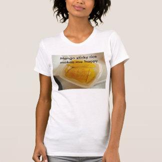 Mango sticky rice makes me happy T-Shirt