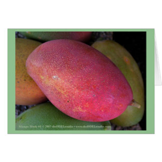 Mango Study #1 Card