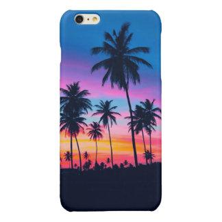 mango sunset glossy iPhone 6 plus case