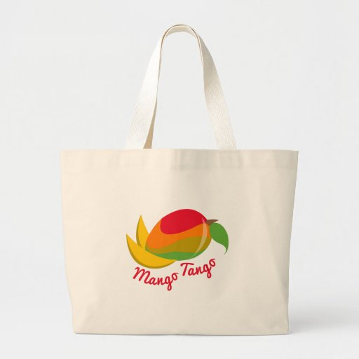 Mango Tango Canvas Bag