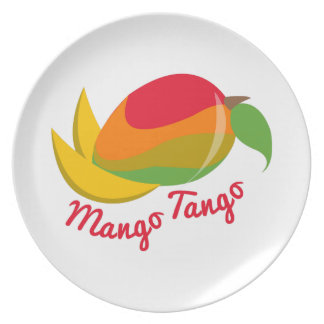 Mango Tango Plate