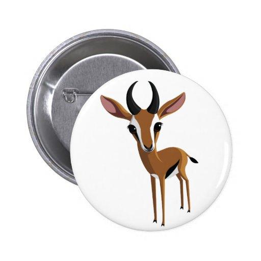Mango the Gazelle Buttons