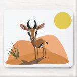 Mango the Gazelle Mouse Mats